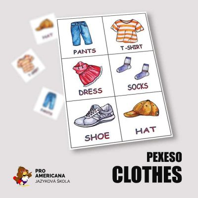 PEXESO-clothes