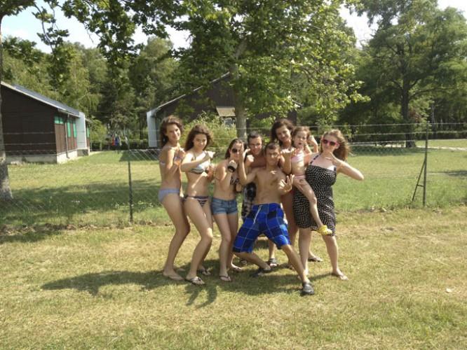 Letný tábor Fonyód 2011